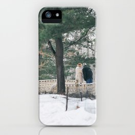 Old Couple iPhone Case