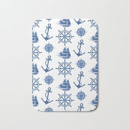 Ships Anchor Beach House Bath Mat