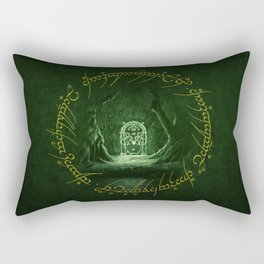 Lord Of The Ring - Durin Gate Rectangular Pillow