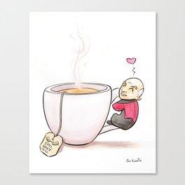 Tea, Earl Grey, Hot Canvas Print