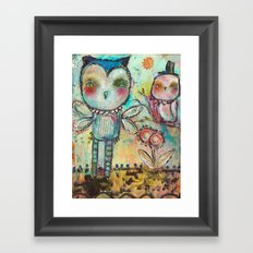 Mind Spring Framed Art Print