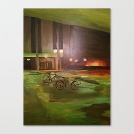 ghost bikes Canvas Print
