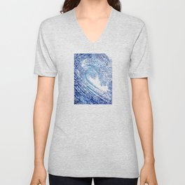 Pacific Waves IV Unisex V-Neck