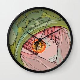 #inktober2016:creepy Wall Clock
