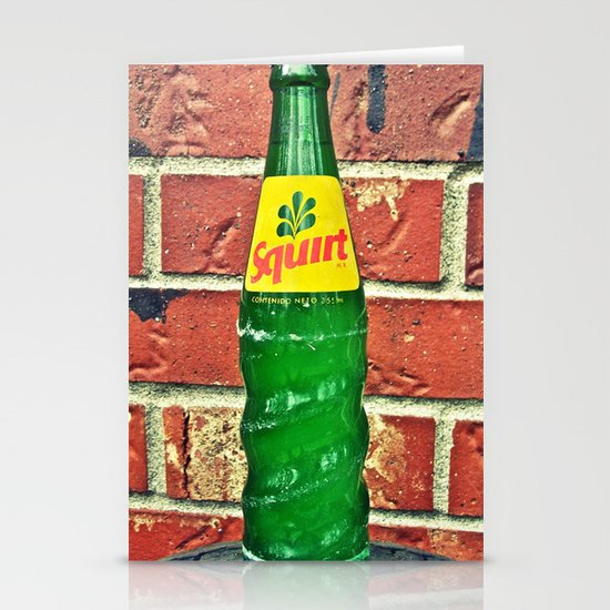 Squirt Soda Stationery Cards