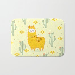 Alpaca summer Bath Mat