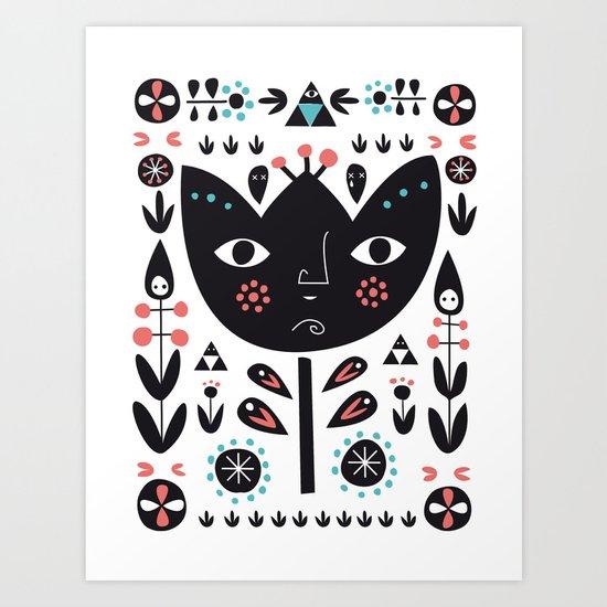 Folksy - Day Art Print