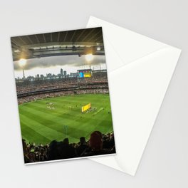 Let the Games Begin at the MCG Stationery Cards