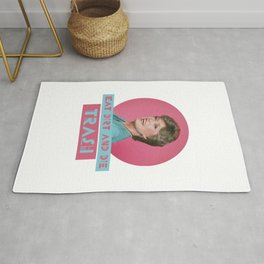 Eat Dirt and Die Trash - Blanch, The Golden Girls Rug