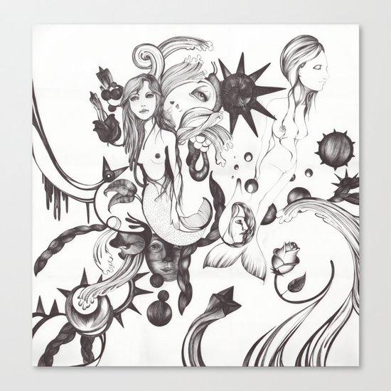Mundo Sumergido Canvas Print