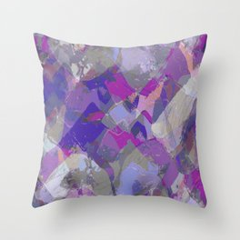 Moon Beam Abstract Throw Pillow