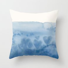 Waves of Love Throw Pillow