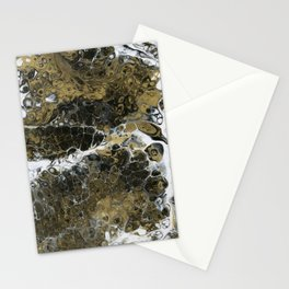 Team Splash, Black and Gold Stationery Cards