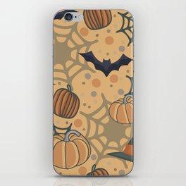 Halloween texture iPhone Skin