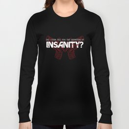 Farcry 3 Butterfly Gun Insanity Long Sleeve T-shirt
