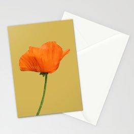 Poppy on Bamboo Stationery Cards