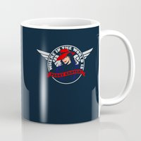 peggy carter Mugs featuring Where in the World is Peggy Carter? by Aaron Synaptyx Fimister