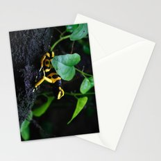 Poison Dart Frog D. Leucomelas Stationery Cards
