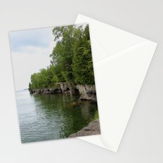 Cave Point County Park Stationery Cards