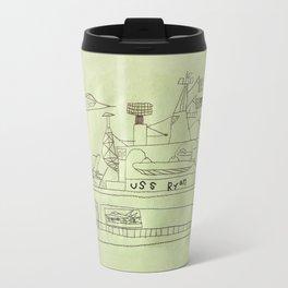 The USS Ryan Carrier Travel Mug