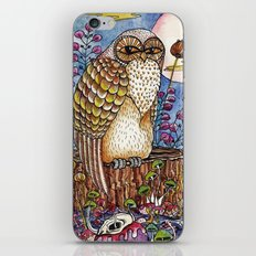 Staring at you iPhone & iPod Skin