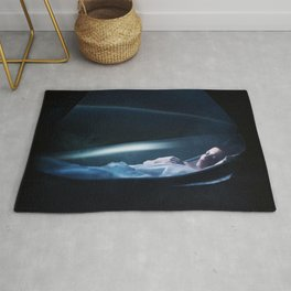 Ellen Ripley Alien fan art Rug