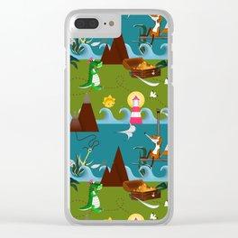 Nautical kids dream Clear iPhone Case