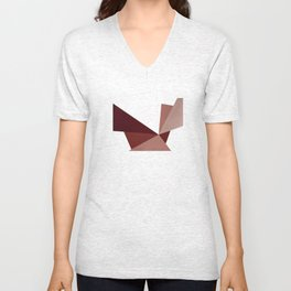 Abstract #8 Unisex V-Neck