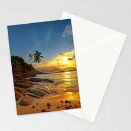 rocks and palms Stationery Cards