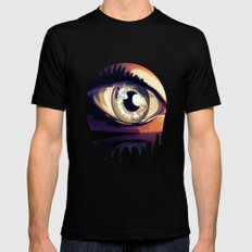 eye Black Mens Fitted Tee MEDIUM