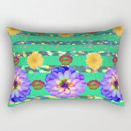 Funky Florals Rectangular Pillow