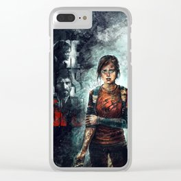 The Last of Us - Ellie Clear iPhone Case