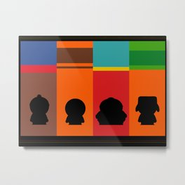 SouthPark: Meet Some Friends of Mine Metal Print