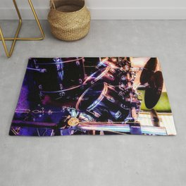 Drums and the Drummer Rug