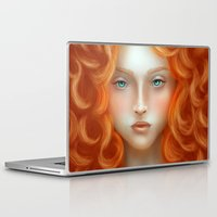 rebel Laptop & iPad Skins featuring Rebel by Alexia Rose
