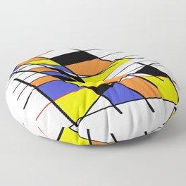 White mult 56567 Floor Pillow
