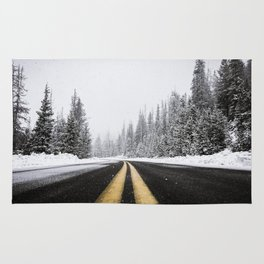 Yellow Road Rug