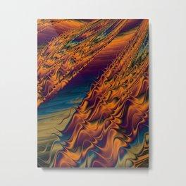 Gurgling Metal Print