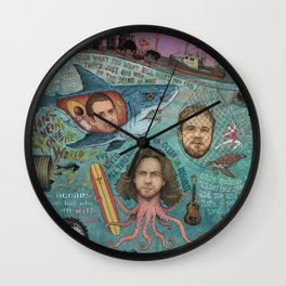 If Not For Love I Would Be Drowning Wall Clock