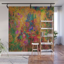 Flowers: Multi Color Daisies Wall Mural