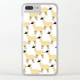 Llama Clear iPhone Case