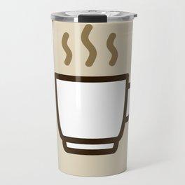 Coffee - Icon Prints: Drinks Series Travel Mug