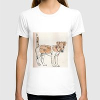 jack russell T-shirts featuring Jack Russell Terrier by Bryan James