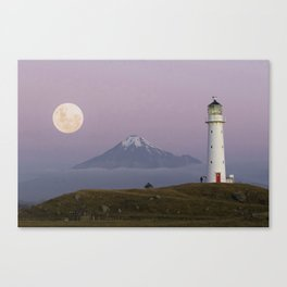 Cape Egmont Canvas Print