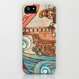 Simbad: Monsters of deep sea. iPhone Case