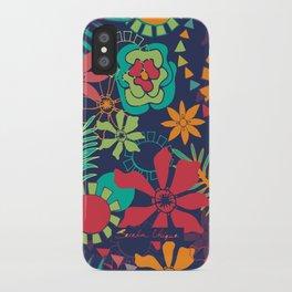 Flower Fiesta iPhone Case