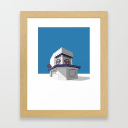 Trinity Road (Tooting Bec) Framed Art Print