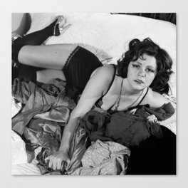 Clara Bow Sexy Time Canvas Print