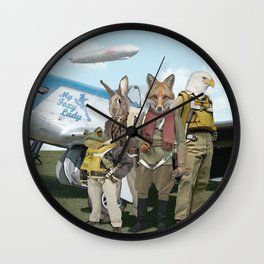 SKYFOX (The Starfox Prequel). Wall Clock