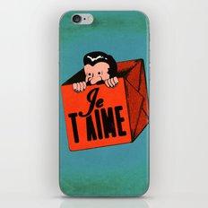 Peek-a-boo (I Love You) iPhone & iPod Skin